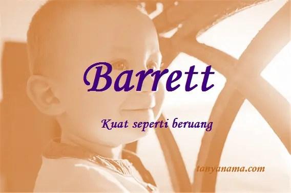 arti nama Barrett