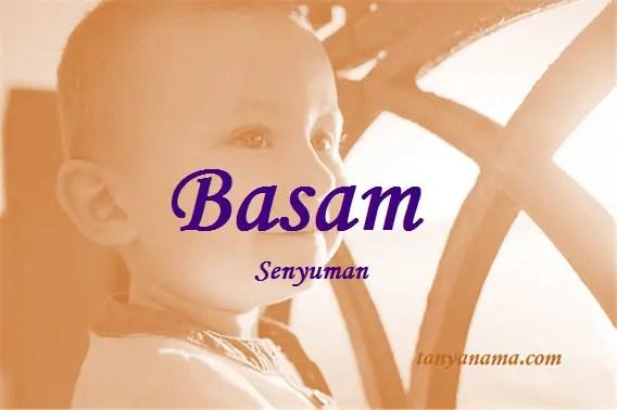 arti nama Basam