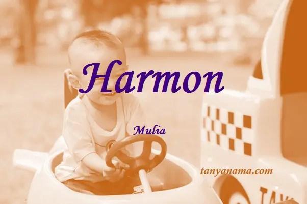 arti nama Harmon