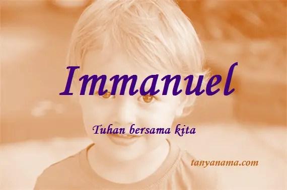 arti nama Immanuel