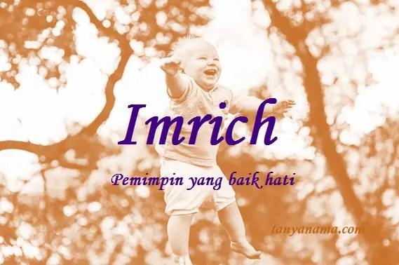 arti nama Imrich