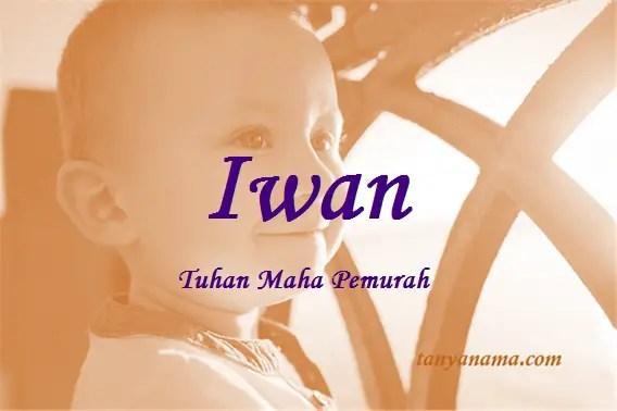 arti nama Iwan