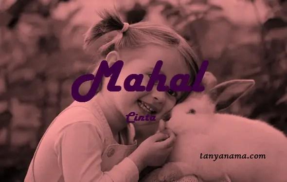 arti nama Mahal
