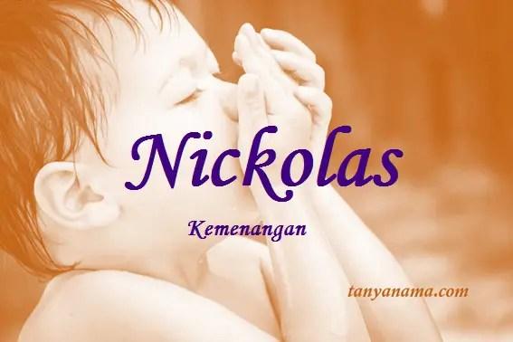 arti nama Nickolas