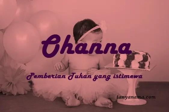 arti nama Ohanna