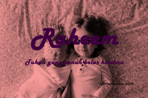 arti nama Raheem