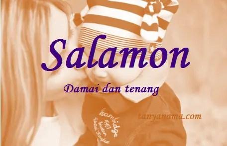 arti nama Salamon