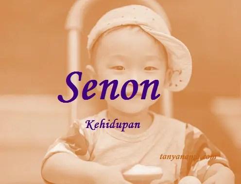 arti nama Senon