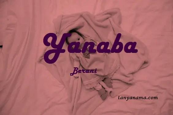 arti nama Yanaba