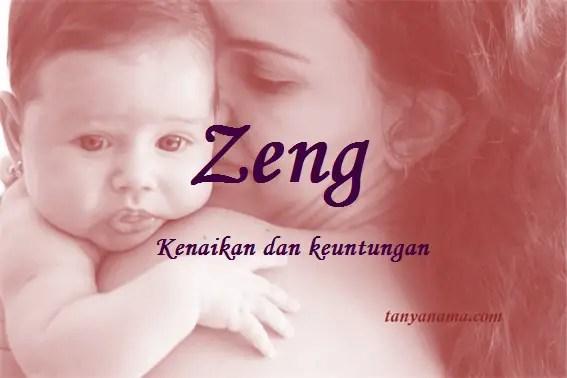 arti nama Zeng