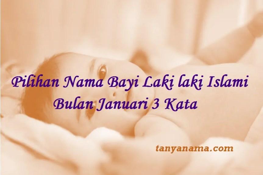 Nama Bayi Laki laki Islami Bulan Januari