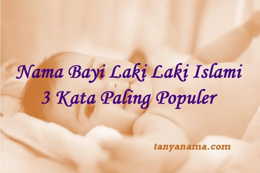 nama bayi laki laki islami 3 kata