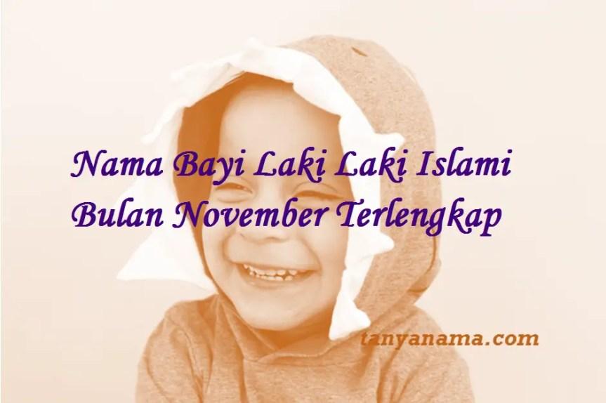 Nama Bayi Laki Laki Islami Bulan November
