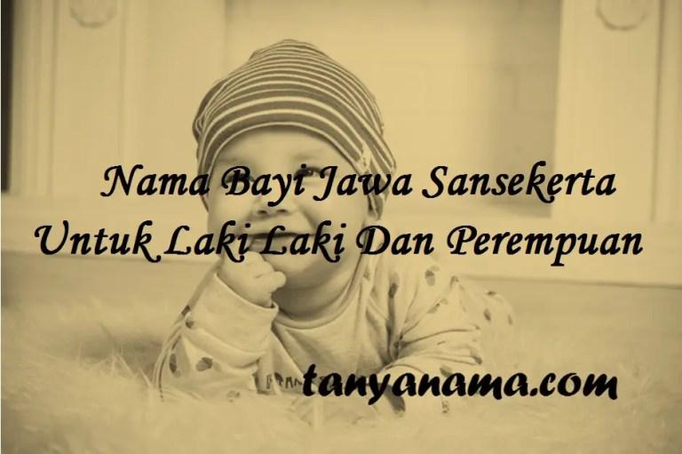 Nama Bayi Jawa Sansekerta