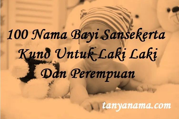 Nama Bayi Sansekerta Kuno