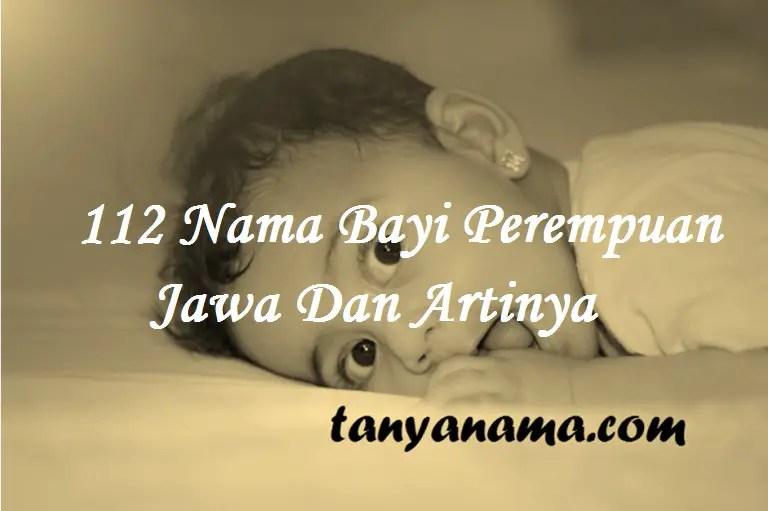 Nama Bayi Perempuan Jawa Dan Artinya