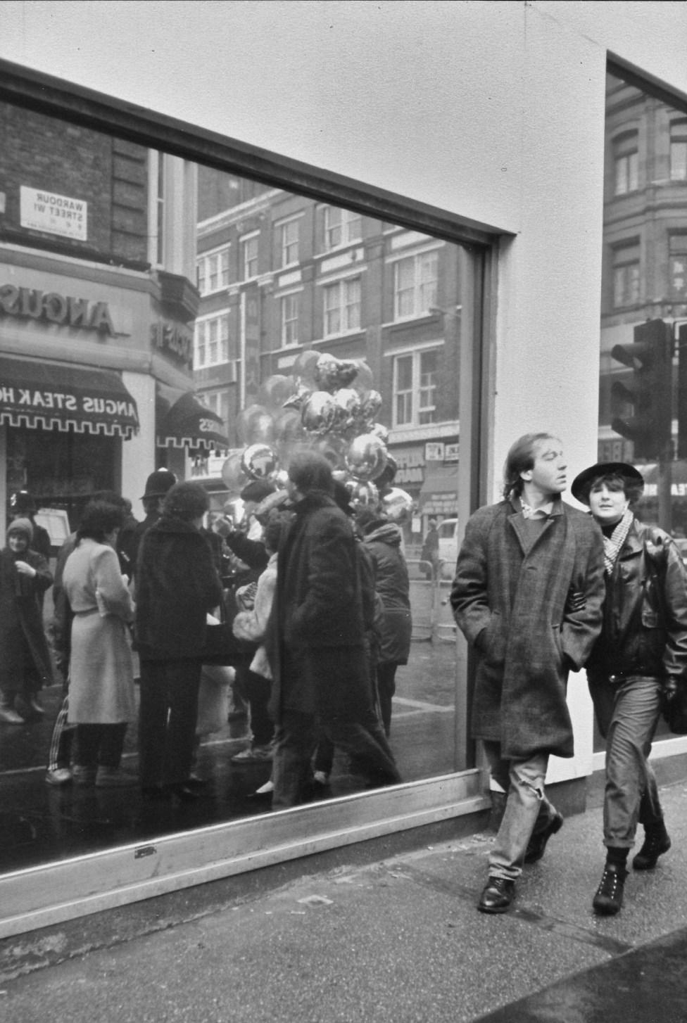 Chinatown, London 1980s