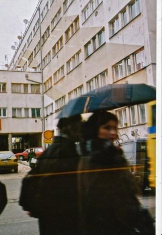 Sarajevo, mysterious Bosnian woman 2003