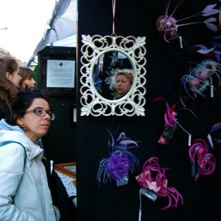Fascinator Stall, Broadway Market 2011