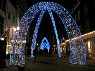 South Molton Street lights, off Oxford Street