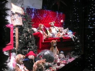 Christmas window display, Selfridges