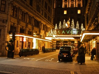 The Savoy Hotel, The Strand
