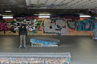 Southbank skate park (Dec 2013)