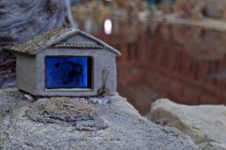 Travelling to Wonderland, installation at V&A