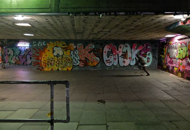 Southbank Undercroft, London