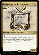 Technology Card - Television (1)
