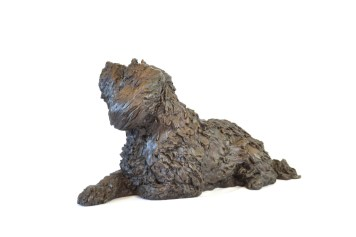 Tibetan Terrier Sculpture 2 - Tanya Russell Dog Sculpture