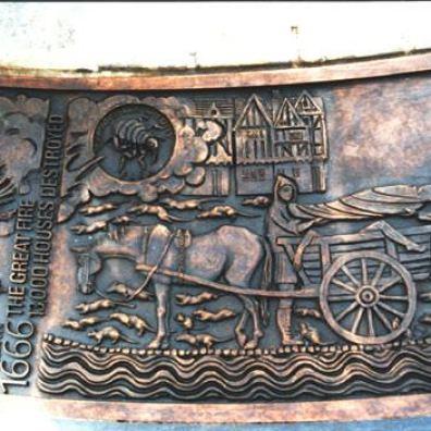 Tower Hill Sundial detail