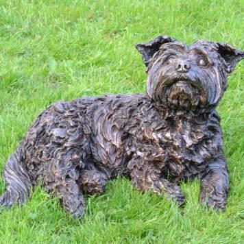 Yorkshire Terrier, Ben- Tanya Russell Sculpture