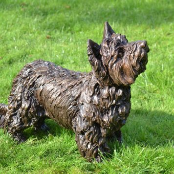 Yorkshire Terrier, Charlie - Tanya Russell Sculpture