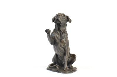 Hope - Rescue Dog Sculpture, Doris Banham Rescue Dog Sculpture- Tanya Russell Dog Sculpture