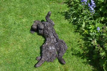 Cocker Spaniel Rolling 10 Sculpture - Tanya Russell