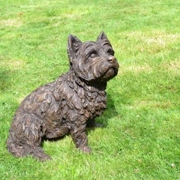 West Highland Terrier sculpture, by Tanya Russell 5