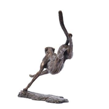 Cheetah Running 10 - Tanya Russell Sculpture