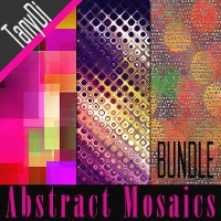 Abstract Mosaic Backgrounds | Bundle