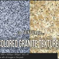 Colored Granite Textures 8.5x11 Printable by TanyDiDesignStudio