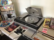 Laser Disc - about 5x physical size of a DVD
