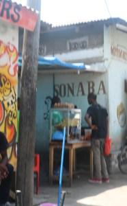 Chipsi Mayai - stall