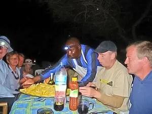 Un repas en Campement Tanzanie