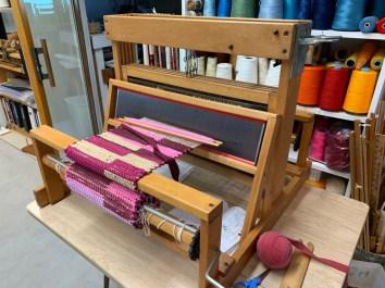 "Table loom, 21"", $300.00"