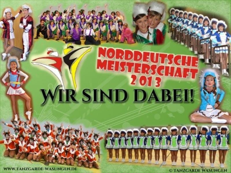 Tanzgarde Wasungen Abschied Hallentour Norddeutsche