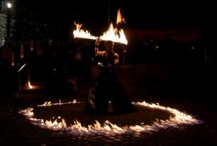Bodenfeuer * Feuereffekt für Feuershows