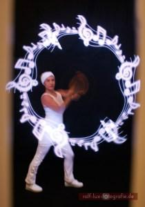 Visual Poi für Lichtshow * Ihre Wunschgrafik, Logo, Name oder Bild in eindrucksvollen Farben