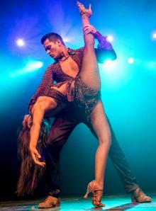 Adolfo Indacochea and Tania Cannarsa