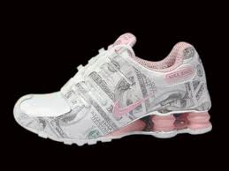 Nike Shox. They look cool and all, but they are not happy feet. Free your feet.