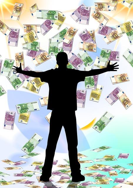 Mit dem Gefühl leben – das Geld nicht verdient zu haben.